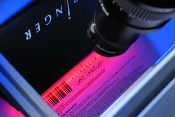LKS 5 LineScan - LEIBINGER Kamerasystem - Kameraverifikationssystem