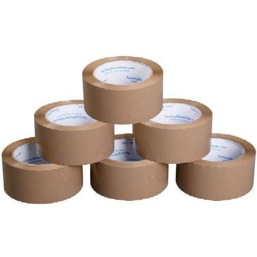 Ragasztószalag széles átlátszó vagy barna - Dobozok lezárásához alkalmas ragasztószalag 48 mm széles