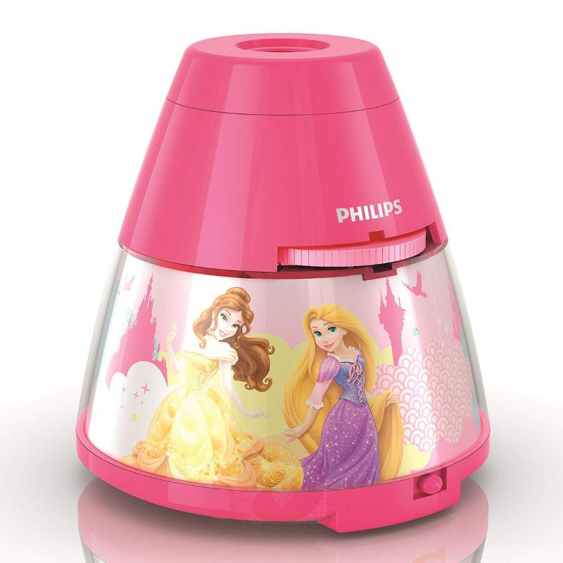 Princess Projector and Night Light with LED - Table Lamps