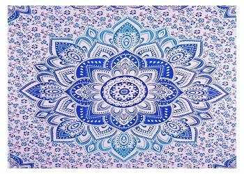 large ombre mandala tapestries indian cotton tapestry