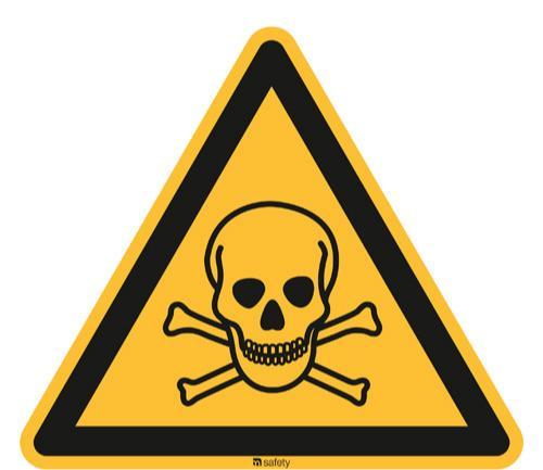 [W016] Warnung vor giftigen Stoffen - ASR A1.3/ISO 7010 [W016]
