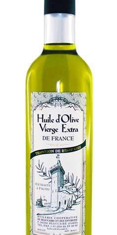 Huile d'Olive Vierge Extra de France 1L - Produits oléicoles