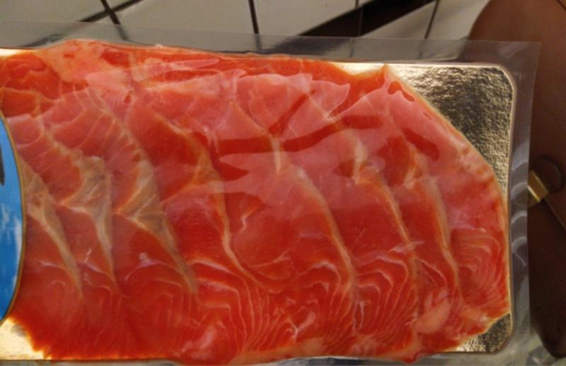 Trout Lightly salted fillet-slicing 100g - LIGHTLY SALTED PRODUCTS