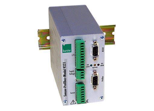 传感器PROFIBUS模块 - 9221 - 用于测力,压力和扭矩,通过RS232接口进行简单配置,可通过PROFIBUS DP连接,最小/最大内存,极限