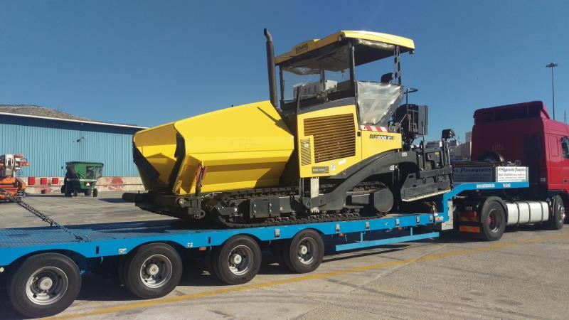 International Transport - A private fleet of vehicle consists of trucks various sizes modern lift trucks