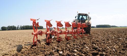 Semi-mounted reversible ploughs - VARI-LEADER