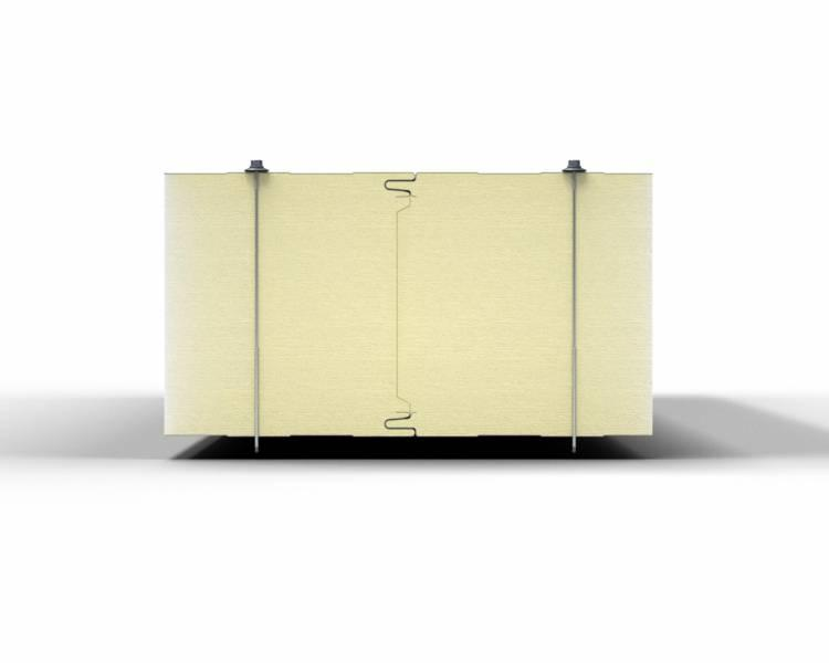 GORLICKA CH GS-PIR - coldstore sandwich panel with PIR core (hidden cam-lock)