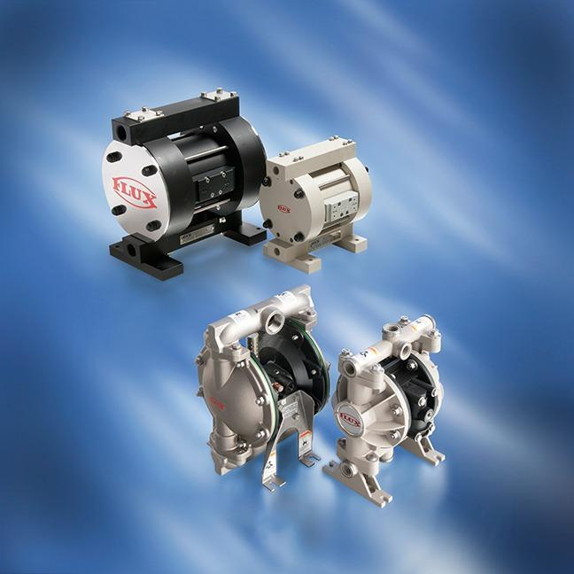 Air-operated diaphragm pumps - Self-priming pumps also for pumping abrasive media