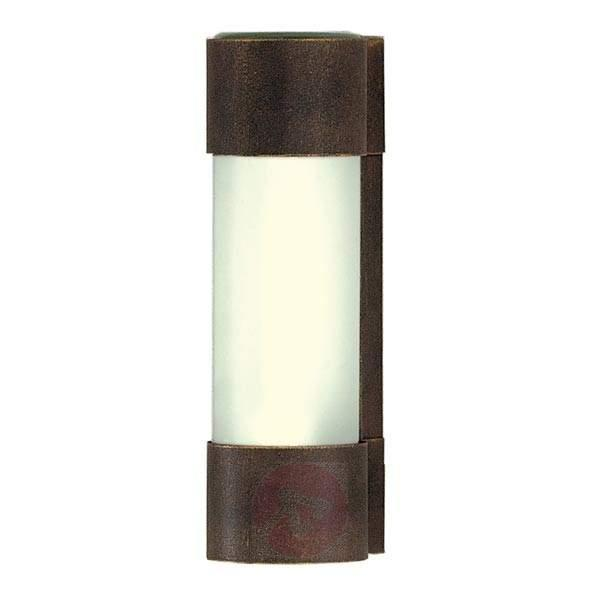 Wall lamp NEPTO brown/gold patinated - Outdoor Wall Lights