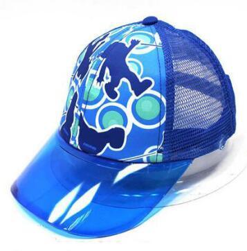 baseball cap with plastic visor ... 8ddb6a25348