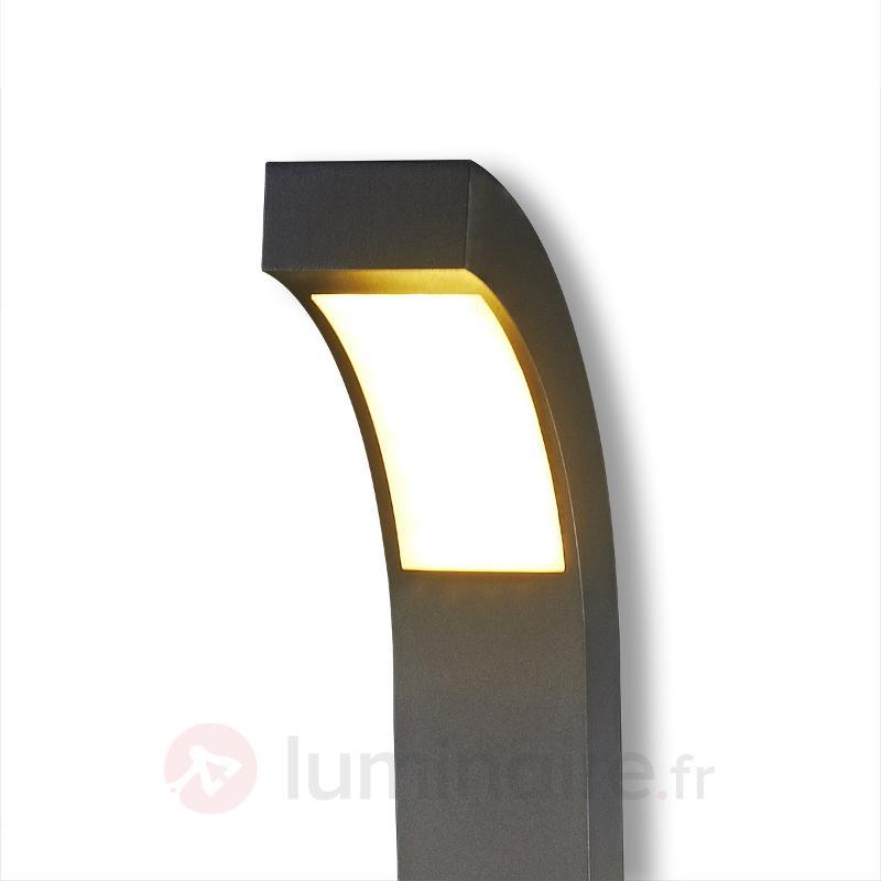 Borne lumineuse LED Lennik gris graphite - Bornes lumineuses LED