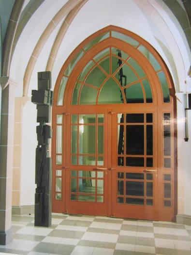 Round Window Curved Elements -