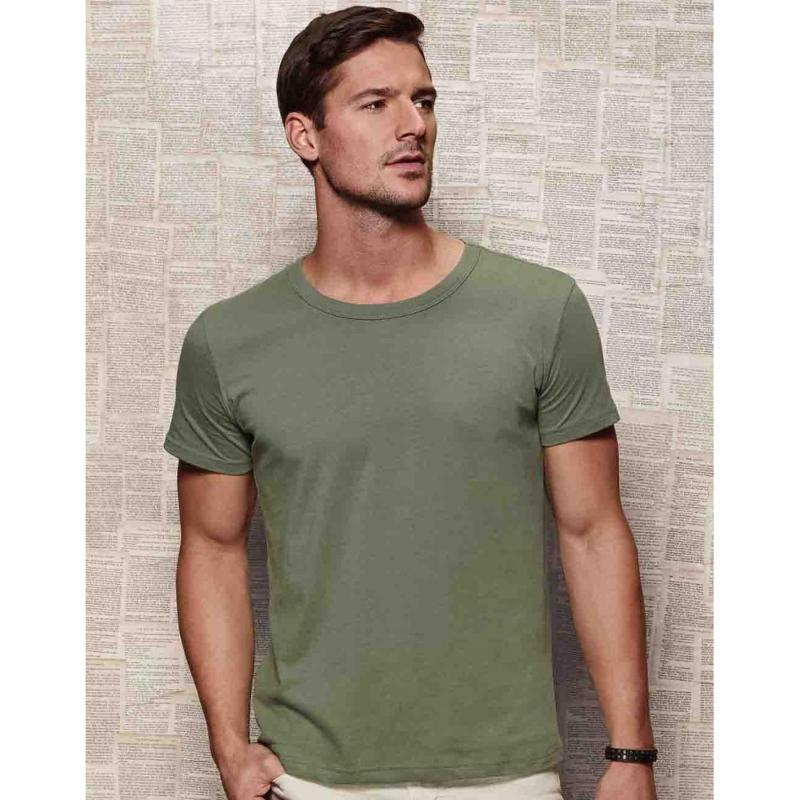 Tee-shirt ras de cou - Manches courtes