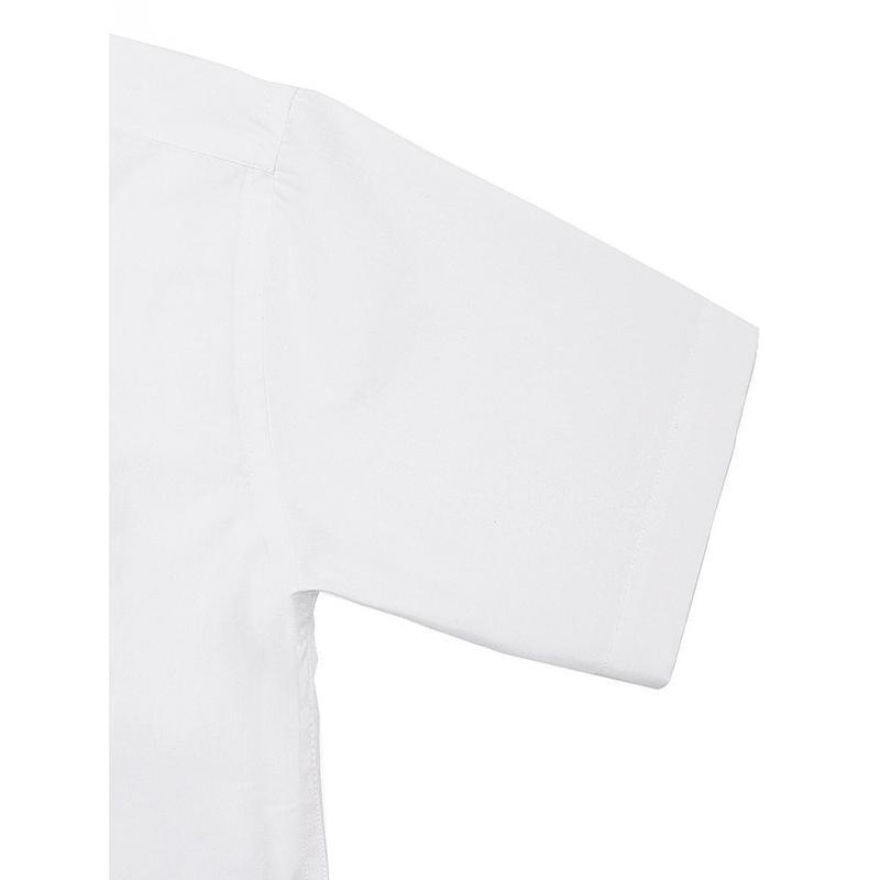Chemise manches à ourlet Poplin - Femme