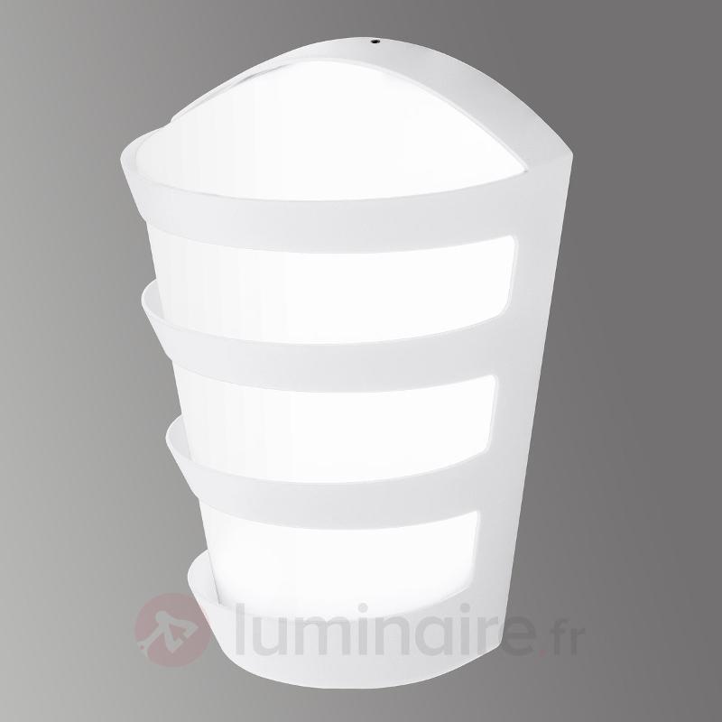 Intemporelle applique LED pour ext. Pasaia blanc - Appliques d'extérieur LED