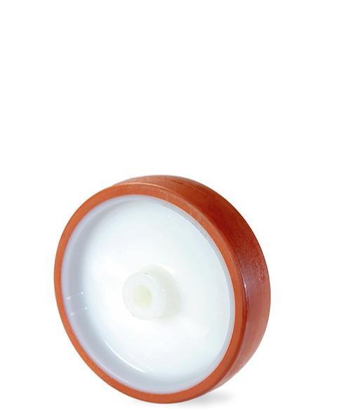 Roue en polyuréthane avec âme en nylon 6 -