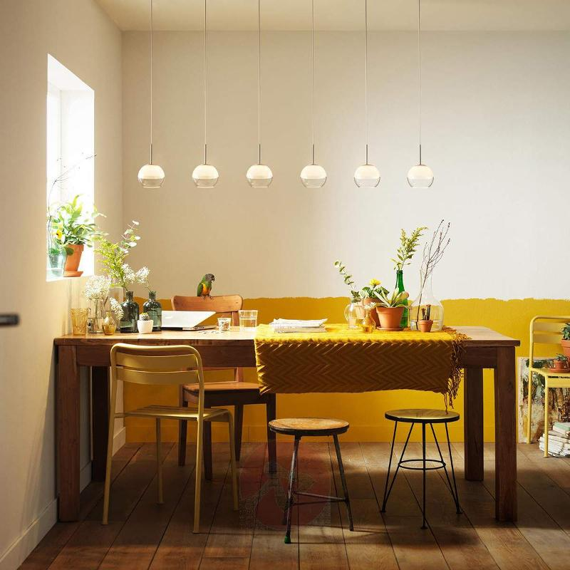 6-bulb LED pendant lamp Arago - Pendant Lighting