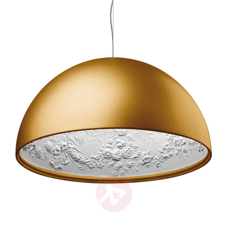 Designer hanging light SKYGARDEN 1 in gold - Pendant Lighting