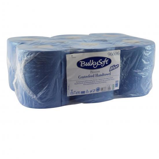 Bobine pure ouate bleue 450F micro gaufrée 20 x 24cm... - Essuyage