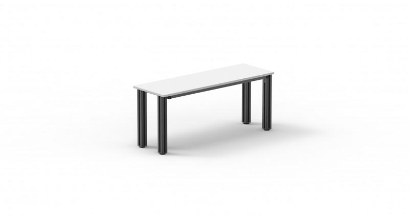 DESMO system table - Laboratory furniture, powder coated tube steel, various dimensions available
