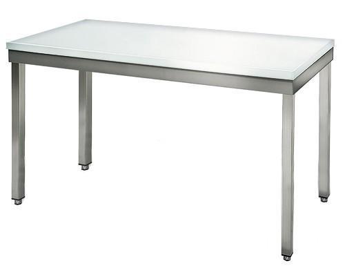 Butcher's table - Butcher table 1,2 m - worktop 40 mm