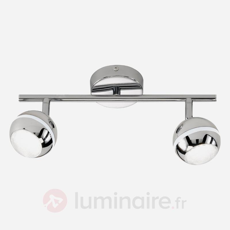 Plafonnier à 2 lampes LED GROOVE - Plafonniers LED
