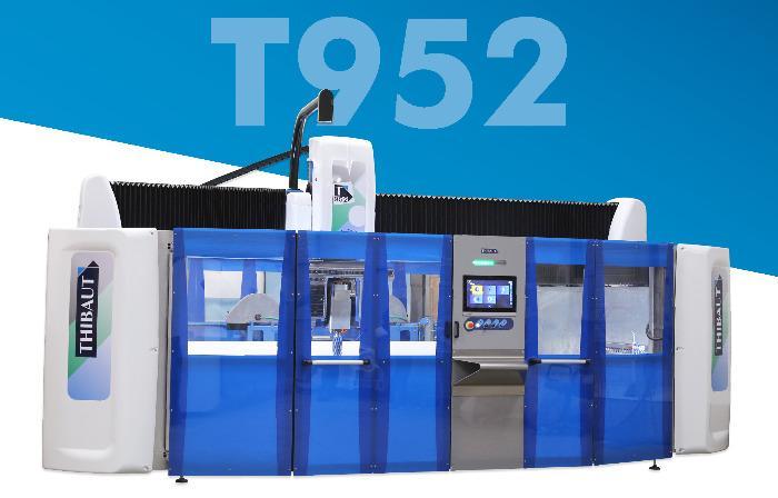 T952  - Machine Thibaut multifonction T952 6 axes