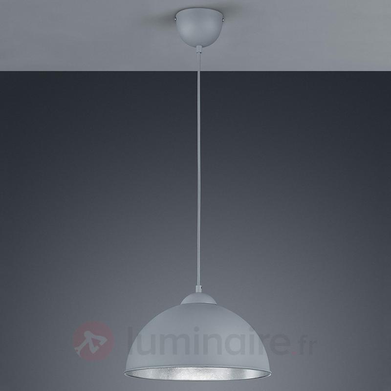 Suspension métallique Jimmy, gris/argenté - Cuisine et salle à manger