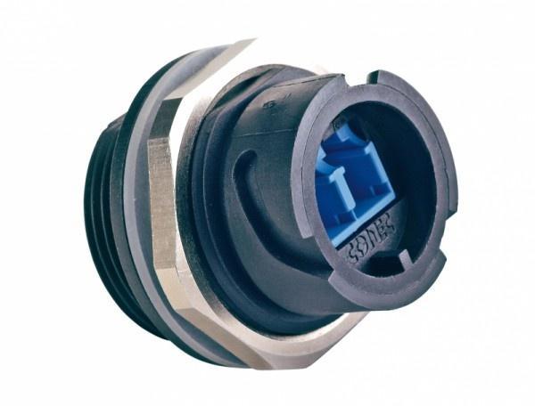 IP67 Fiber Optic LC Duplex Connectors - IP67 Fiber Optic LC Duplex Connectors