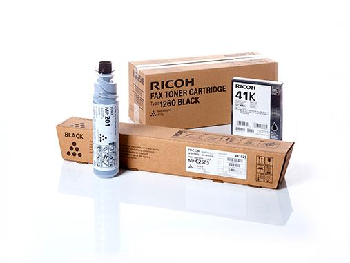 Original Ricoh supplies and spare parts