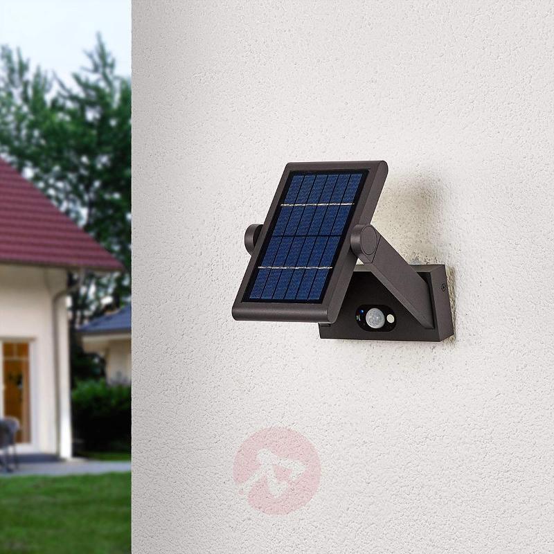 Solar-powered LED outdoor wall light Valerian - Solar Motion Sensor Lights