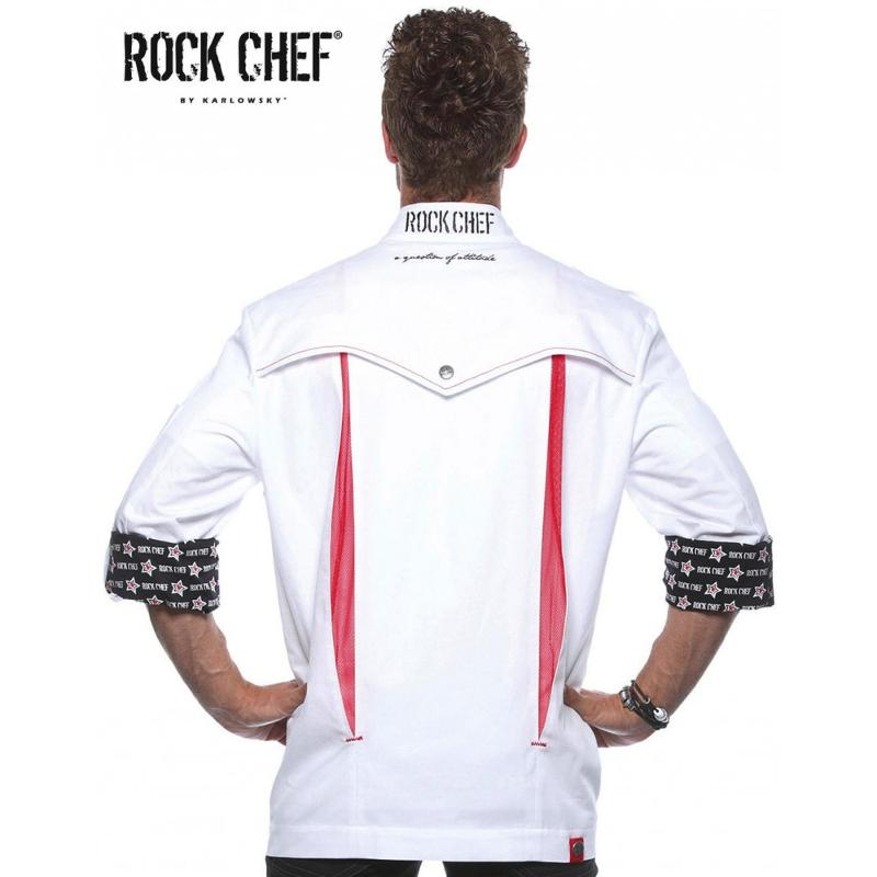 "Veste chef ""Rock chef"" - Vêtements"