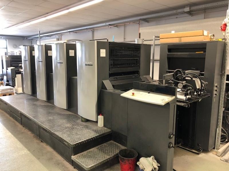 Heidelberg SPEEDMASTER SM 74-4 T - Used Machine