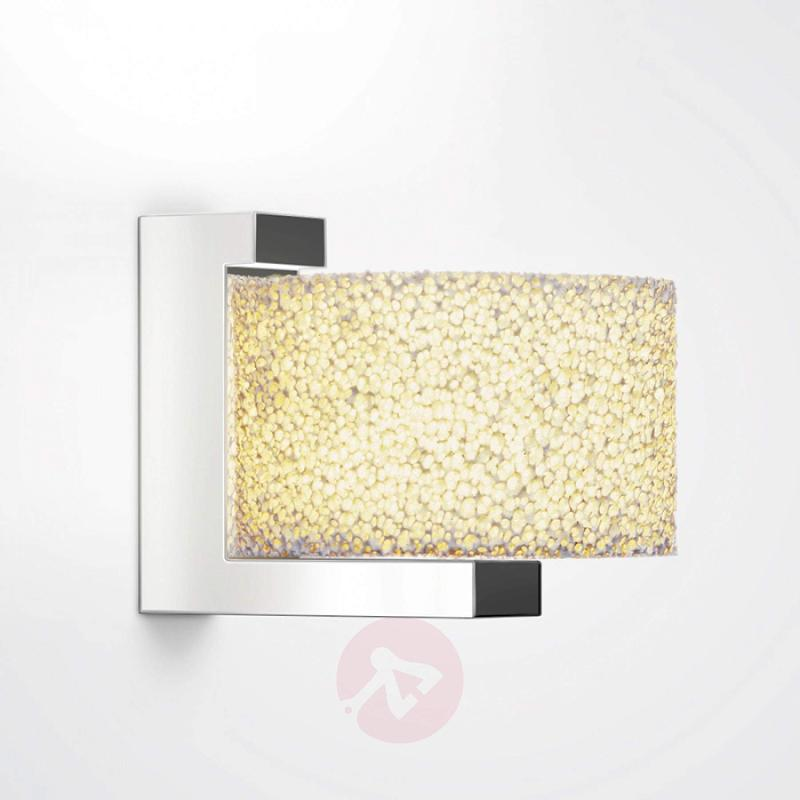 Ceramic foam wall light Reef with dimmable LEDs - design-hotel-lighting
