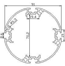 Profilés - ronds - profiles rd-91