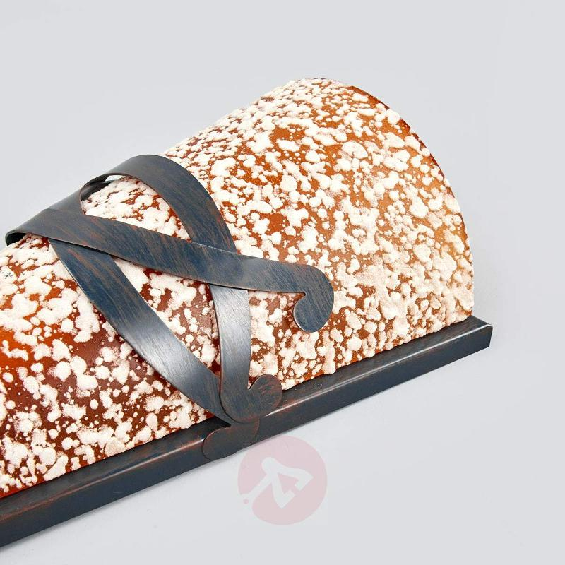 Speckled MELINDA wall light with décor - Wall Lights