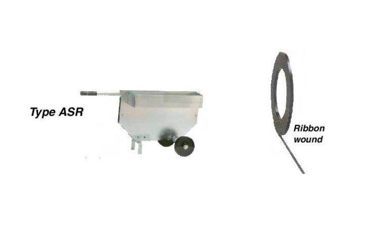 Afroller ASR - Staalbandomsnoering