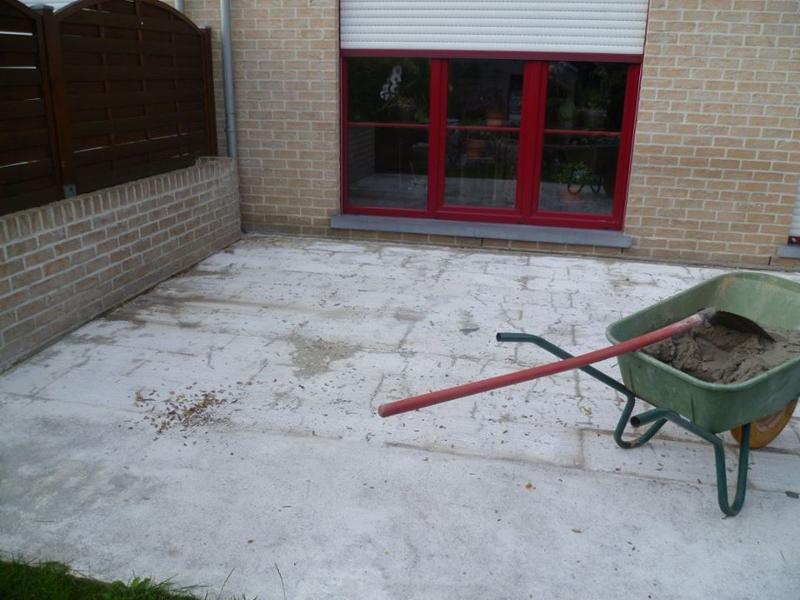 Rénovation d'une terrasse