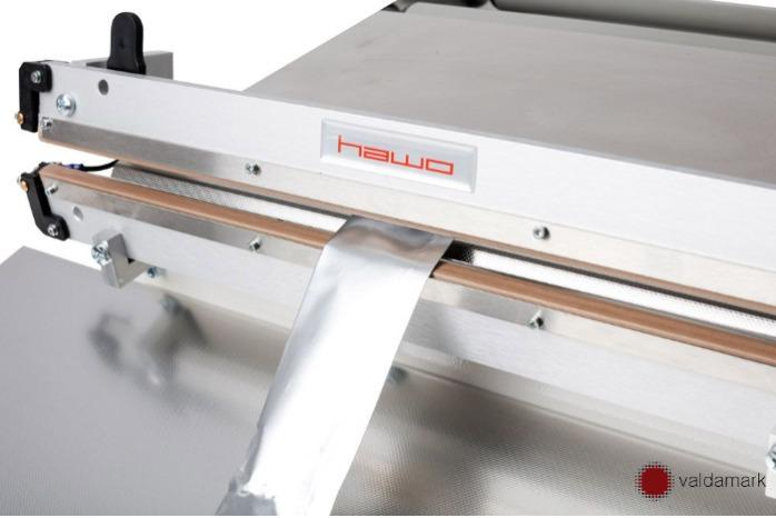 HAWO HPL 450, 630 e 1000 AS - Aferidor de impulso operado a pé | seladora a quente