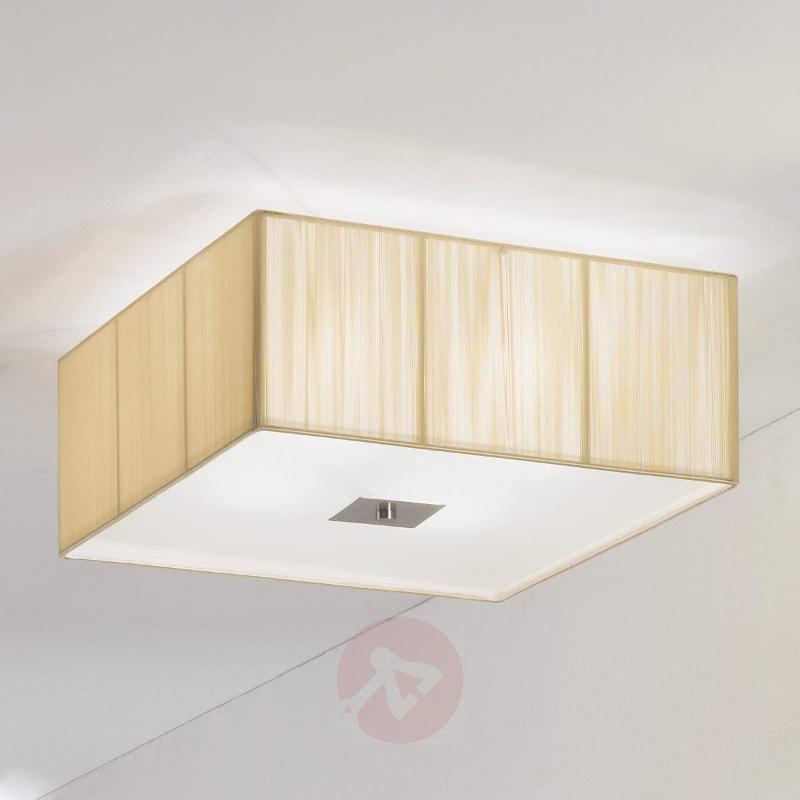 Benjamin Fabric Ceiling Light Square - Ceiling Lights