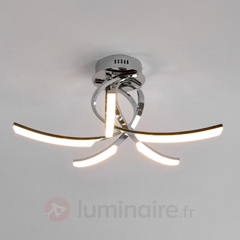 Plafonnier LED Kaan à 5 lampes - Plafonniers LED