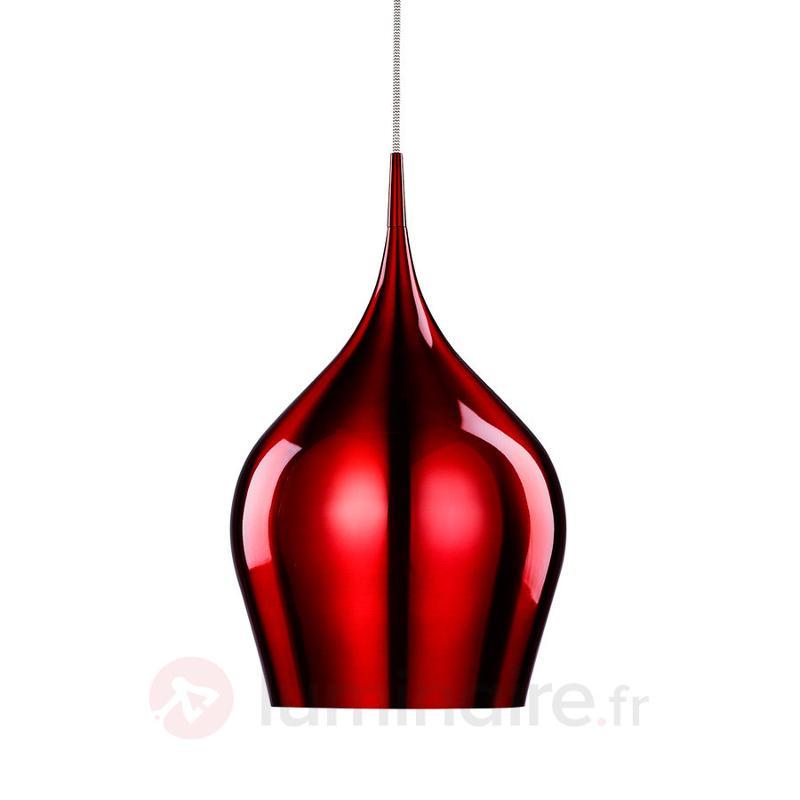 Suspension Vibrant rouge bordeaux - Cuisine et salle à manger