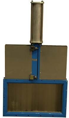 Vanne guillotine carré Modèle KG04 - null