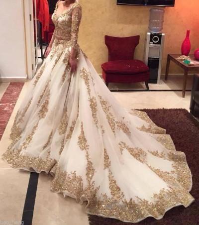 Robe de mariée - Robe de mariée style princesse brodée