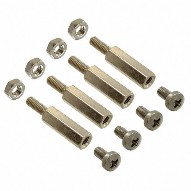 4 SCREWS, NUTS&STEEL STAND-OFFS - VersaLogic Corporation VL-HDW-101