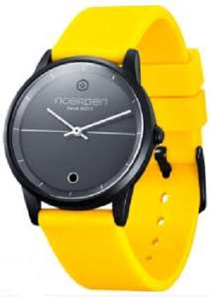 LIFE Hybrid Watch Yellow Silicon Band