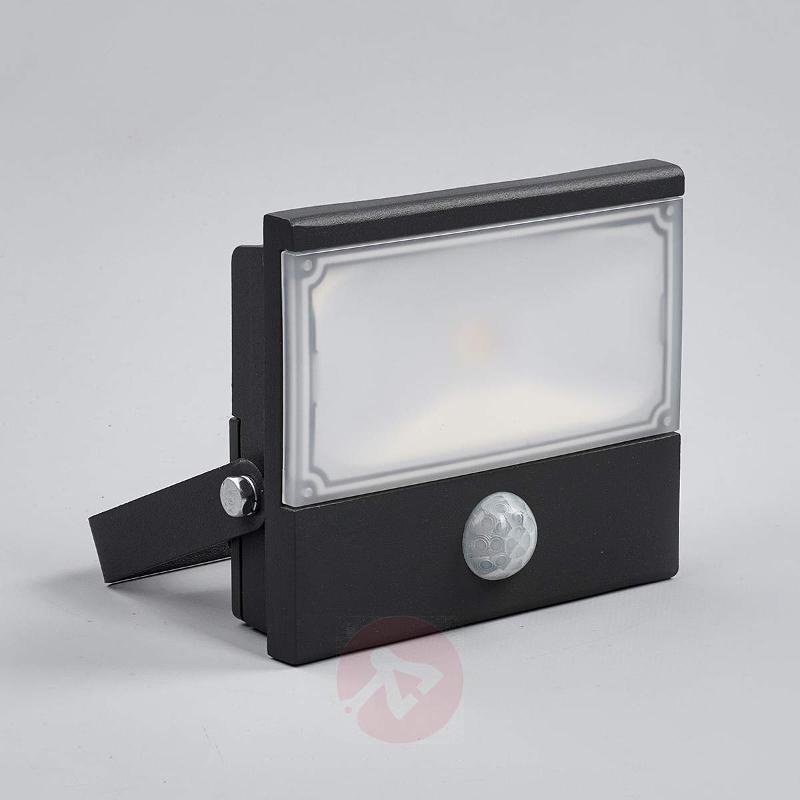 Auron functional LED outdoor spotlight, sensor - Outdoor Wall Lights