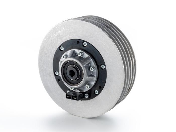 Magnetic particle brakes & clutches - Magnetic paticle brakes and clutches - stepless torque adjustment
