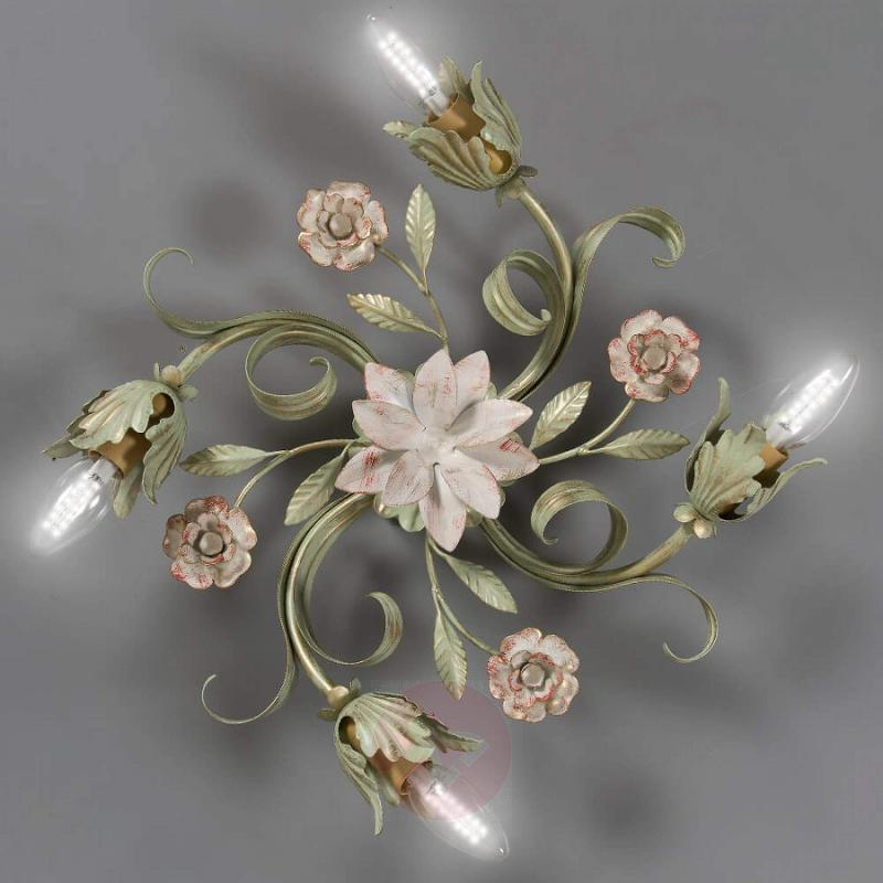 Tulipe ceiling lamp in the Florentine style - indoor-lighting