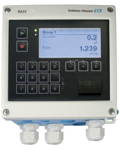 RA33 Batch Controller - Enregistrement et commande des applications par lots